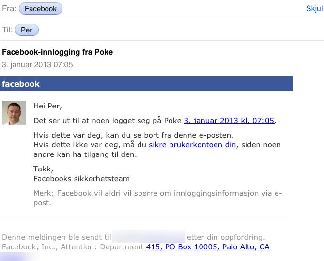 hva er galt med facebook