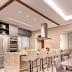 Espaço gourmet contemporâneo e integrado com quartzito Perla Santana!