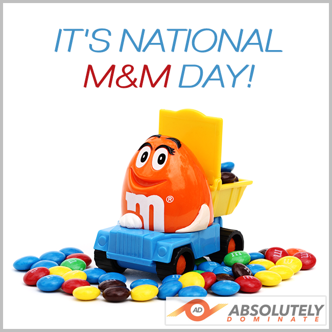 National M&M Day Wishes Sweet Images
