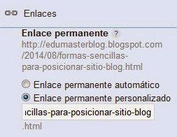 posicionar-blog-enlace-personalizado
