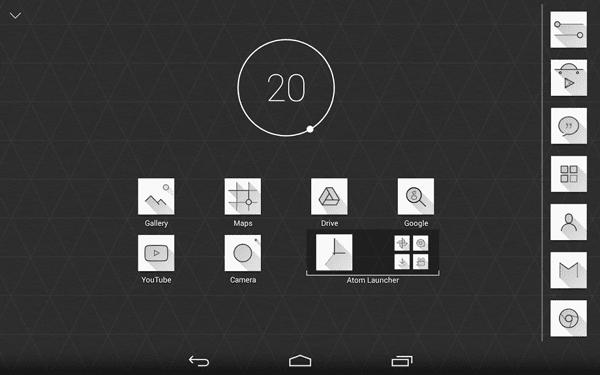 Atom Launcher - Best Android Smartphone Launcher