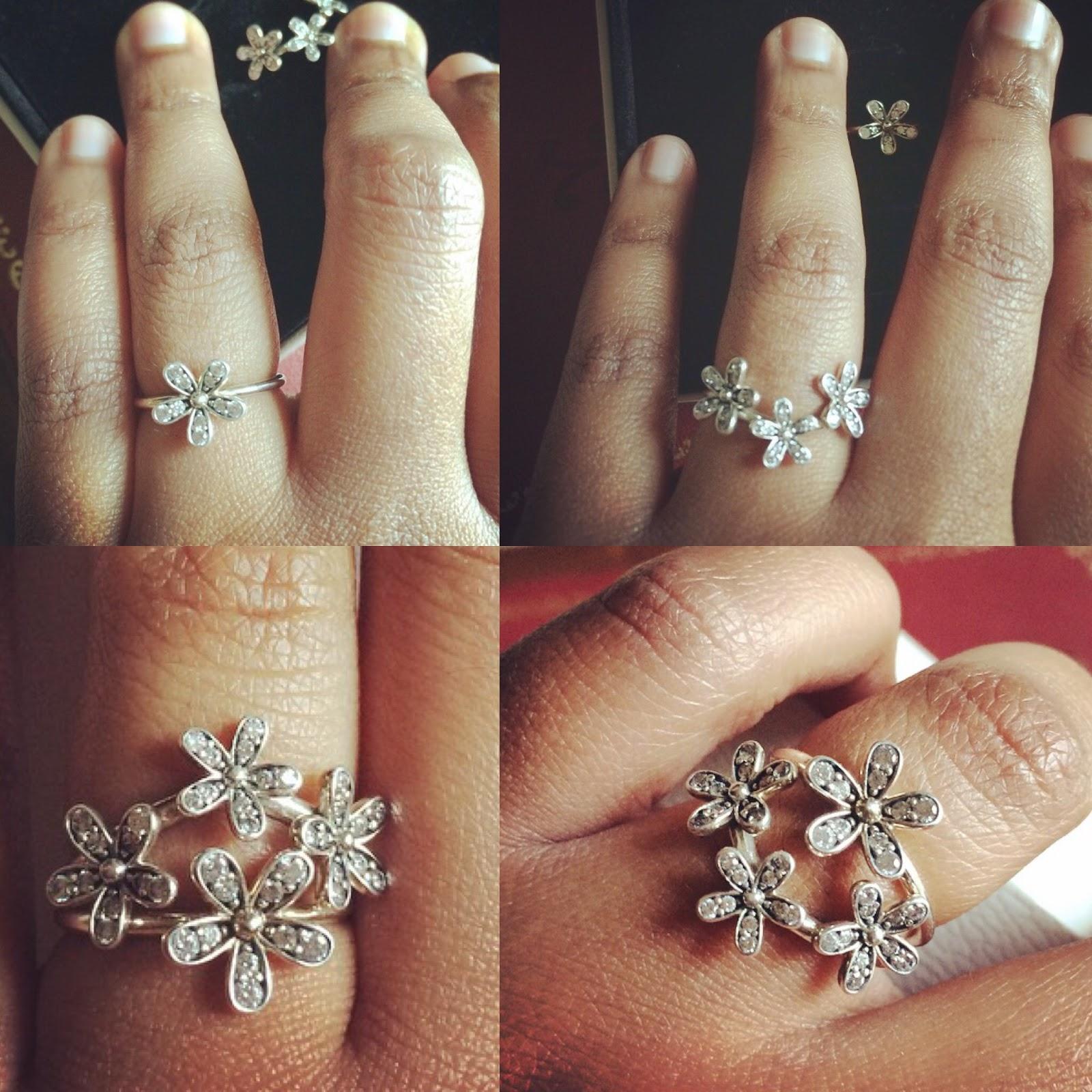 Pandora Sterling Silver Daisy Rings! #GiftForHer! #Jewelry ...