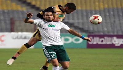 اهداف مباراة المصري والانتاج الحربي (3-0) الدوري المصري