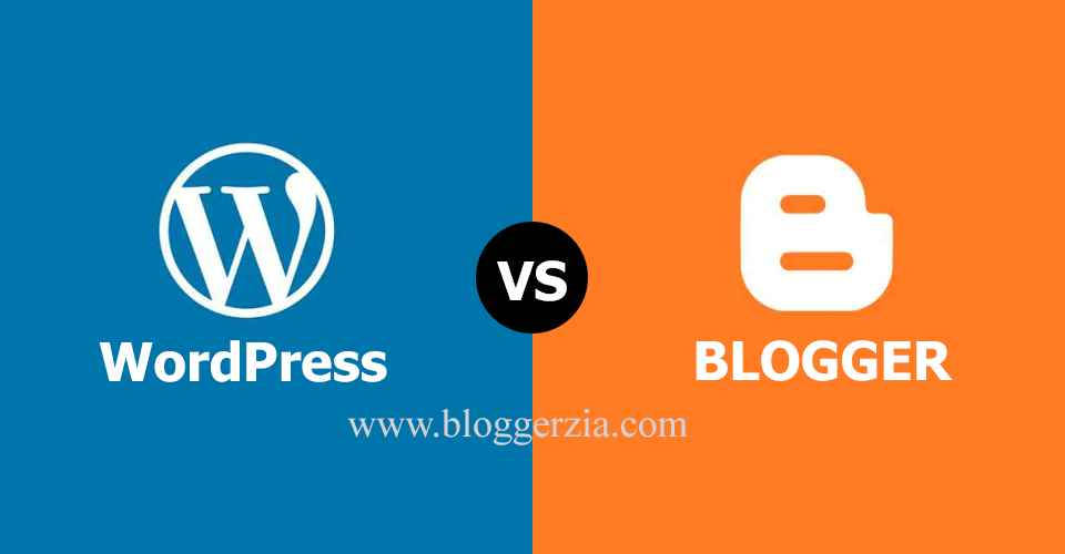 compare between wordpress vs blogger