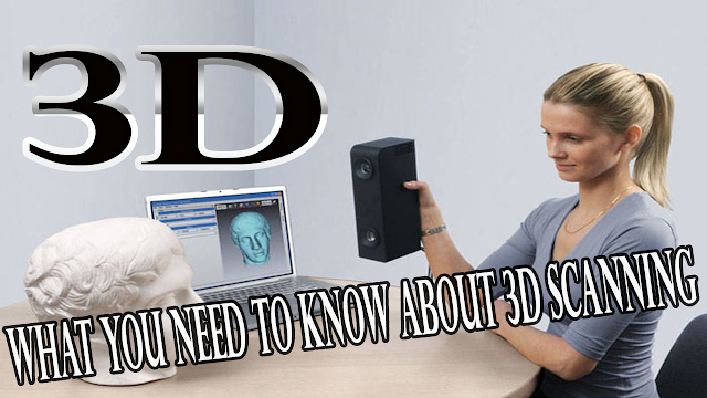 What you need to know about 3D Scanning