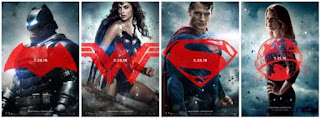 Batman v Superman Character Posters