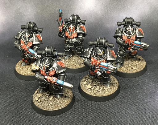 Horus Heresy Dark Angels Interemptors
