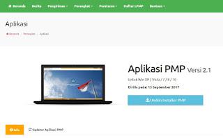 Aplikasi PMP Versi 2.0 dan Beberapa Perubahannya