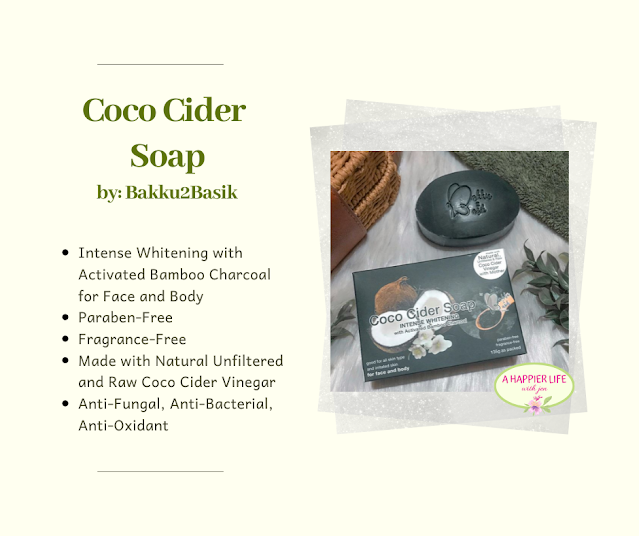 Coco Cider Soap from Bakku2Basik, A Happier Life with Jen, Coco Cider Soap