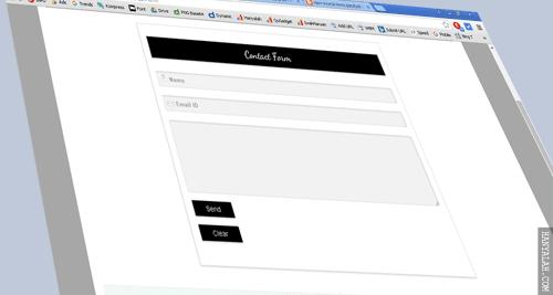 Cara Mudah Membuat Form Contact Us di Halaman Blogspot