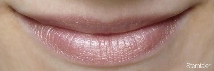 Cremekampagne Lippenstift Tragefoto Sterntaler