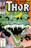 Thor gegen Jörmungandr Comic