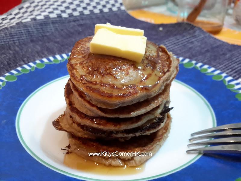 Banana Pancake DIY recipe 香蕉班戟自家食譜