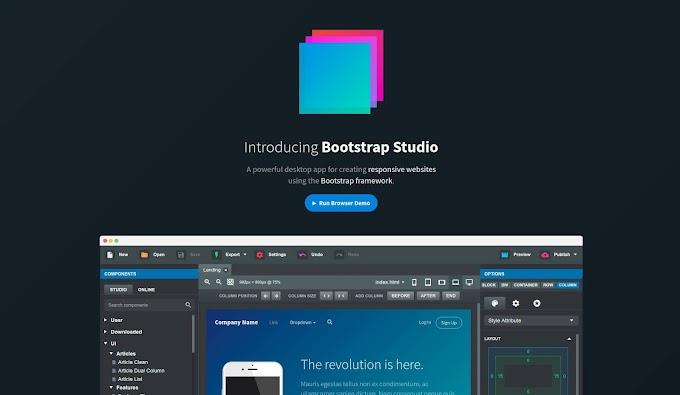 Bootstrap Studio 4.5.3 (x64) Tools Website Front End