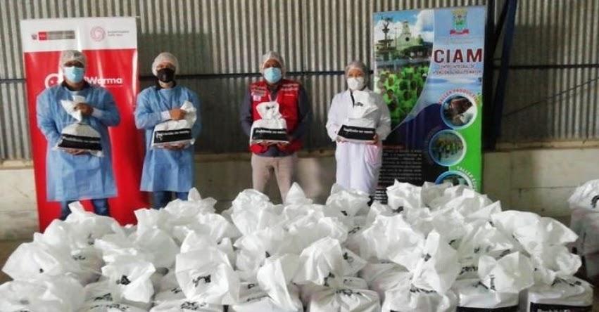 QALI WARMA: Programa social entrega a la Municipalidad de Moyobamba más de 13 toneladas de alimentos - www.qaliwarma.gob.pe