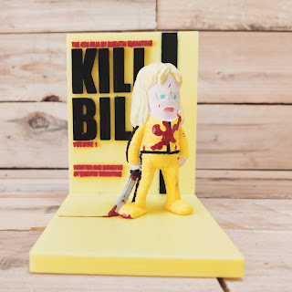 Kill Bill 3D printed diorama