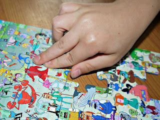 Ravensburger XXL 100 Puzzle, Spongebob Squarepants