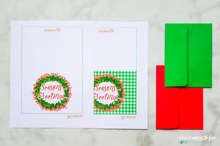 Printable Holiday Cards