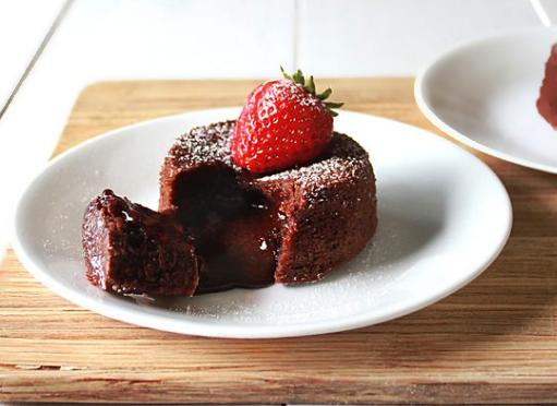 Resep Chocolate Lava Cake Jtt: Resep Molten Lava Cake Yang Moist Dan Lumer