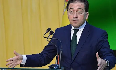 خوسي مانويل ألباريس وزير الشؤون الخارجية الإسباني يعترف بقوة ومكانة المغرب ويؤكد