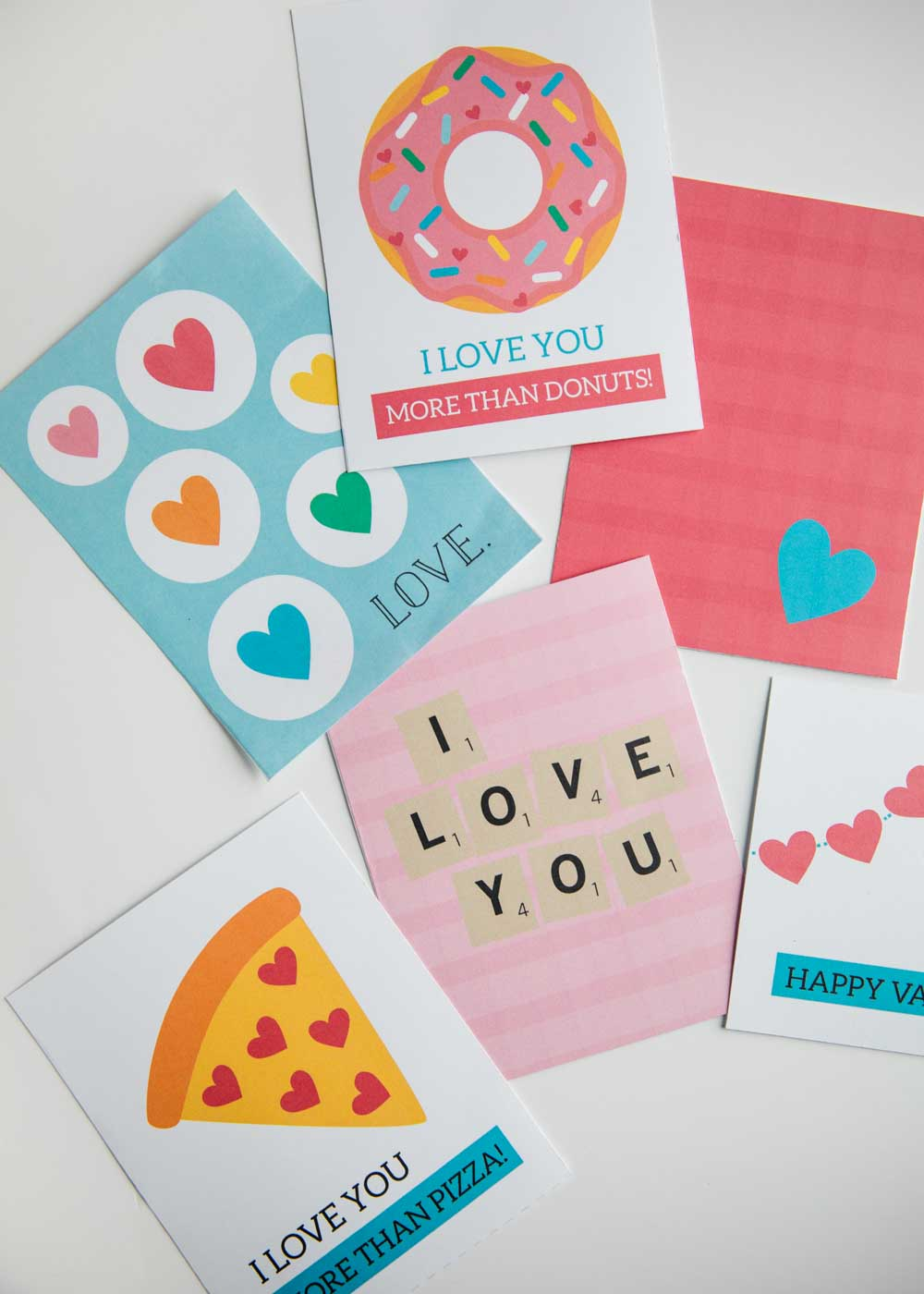 imprimibles gratis para san valentin