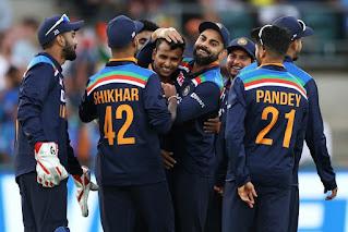 india vs australia 2020 3rd odi