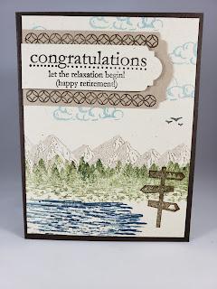 Outdoor themed Congratulations Card