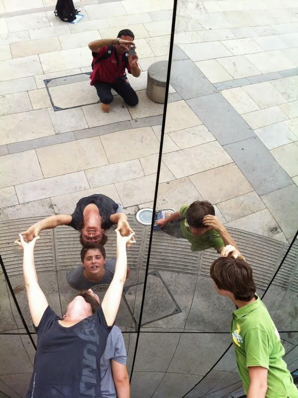 fotos en la esfera de cristal