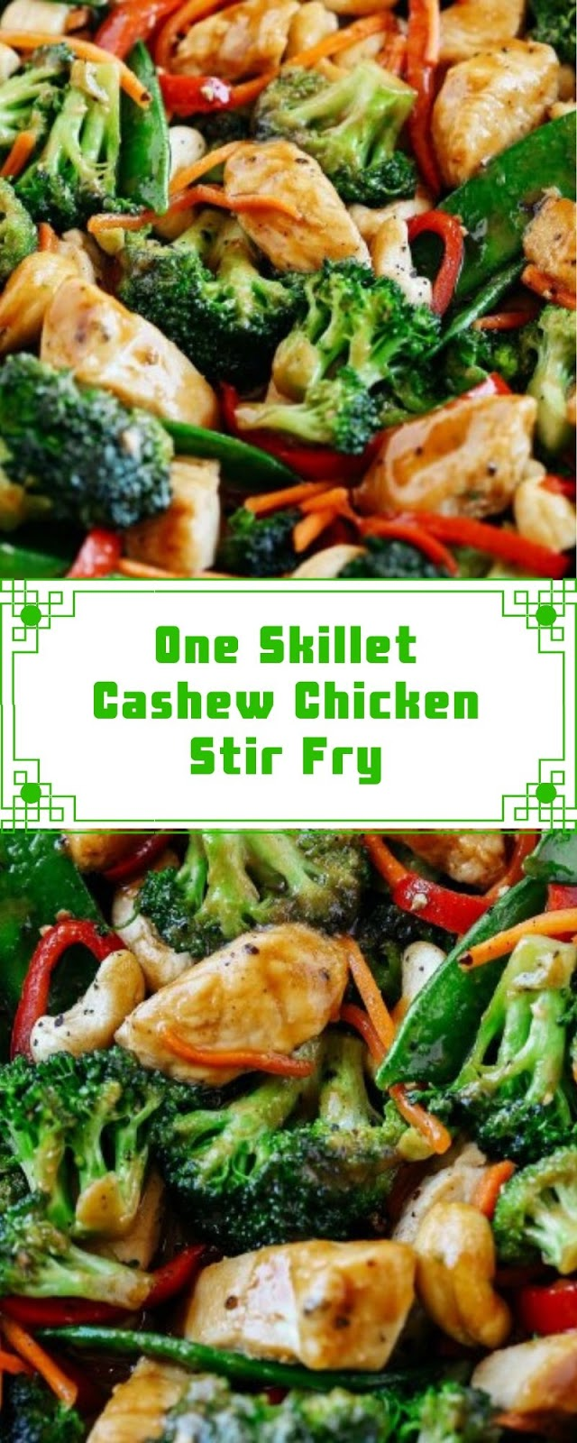 One Skillet Cashew Chicken Stir Fry
