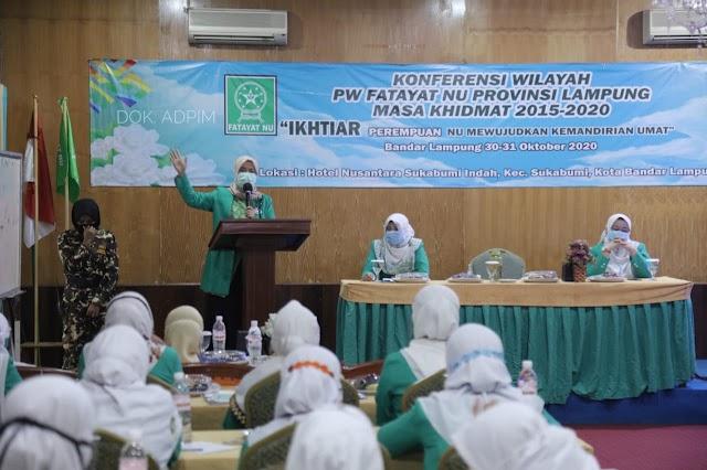 Konferwil Fatayat NU Lampung 2015-2020, Pemprov Lampung Ajak Kader Lakukan Kegiatan yang Lebih Inovatif