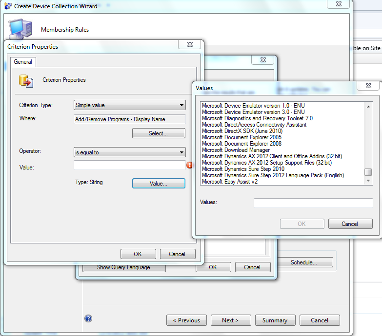 Increasing SCCM 2012 Add/Remove Programs Simple Query Value