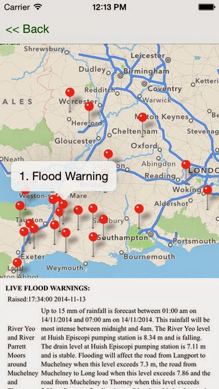 Flood Risk app