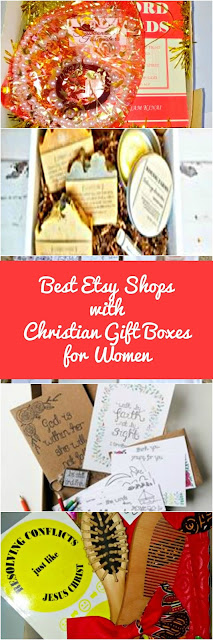 Best Etsy Shops with Christian Gift Box for Women