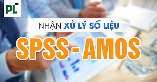 dịch vụ phân tích số liệu SPSS, AMOS