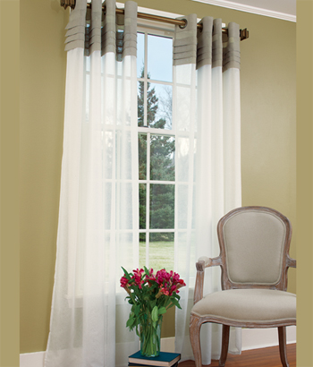 Modern Furniture Grommet Top Curtains Designs Ideas 2012