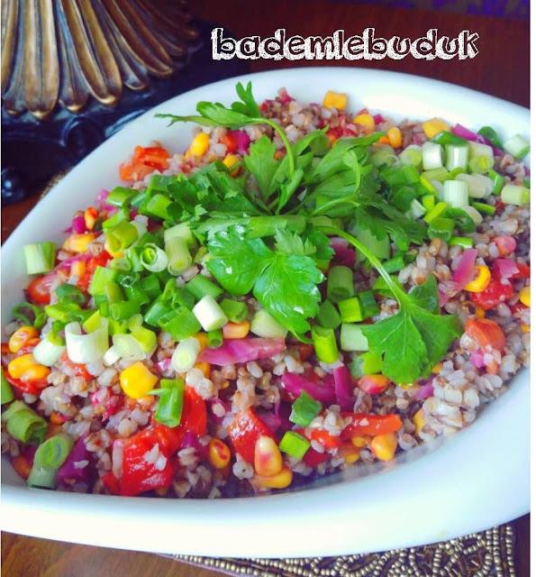 pratik Kara buğday salatası