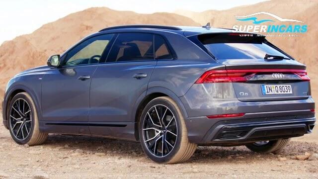 2019 Audi Q8 Interior, and Features