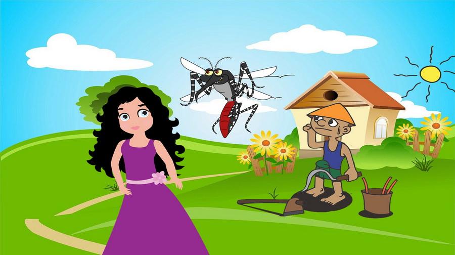 Kisah Dongeng Asal Mula Nyamuk