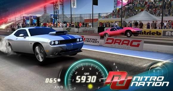 Free Download Nitro Nation Drag Racing v6.0 Mod Apk (Free Repair) + OBB Data Terbaru