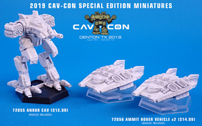 Special Edition Miniatures from Talon Games