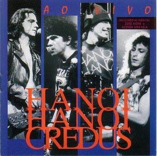 """Capa do disco """"Credus"""" que o grupo Hanoi Hanoi lançou em 1995"""