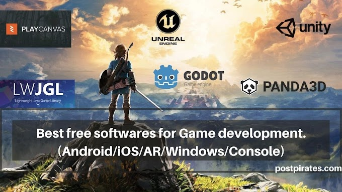 Best free software for Game development !! (Android/iOS/AR/Windows/Console)