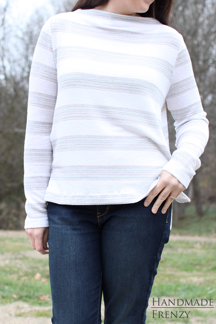 Toaster Sweater // Sewing For Women