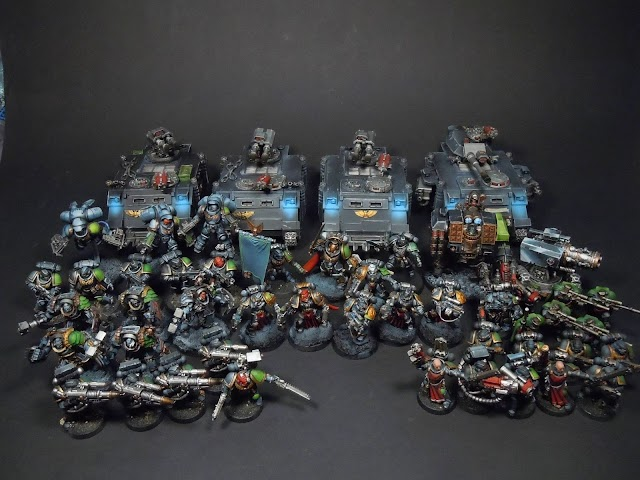 What's On Your Table: Void Bearers Space Marine Chapter