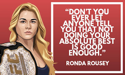 Ronda Rousey Quotes