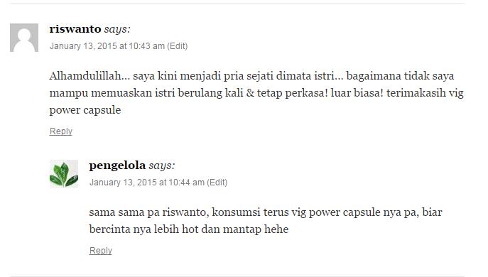 Jual Vig power Capsule Di Surabaya