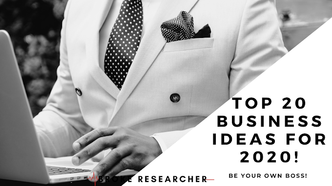 Business Ideas for 2020