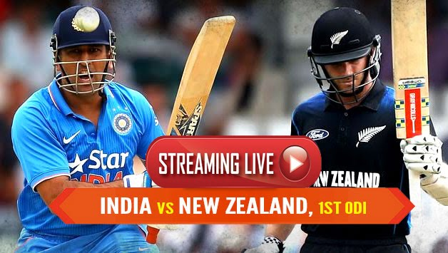 India vs New Zealand 1st ODI Live Cric Score and Online Streaming