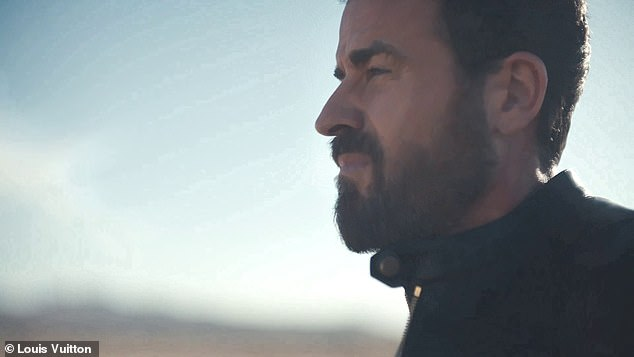 Justin Theroux stars in the new Louis Vuitton campaign