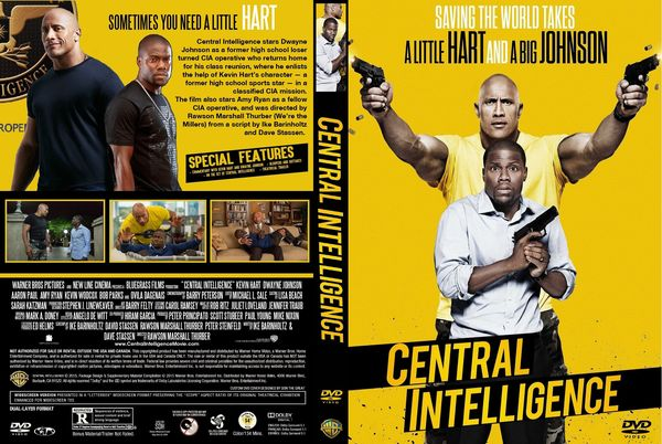 Central Intelligence – Latino, Inglés, Francés – DVD9